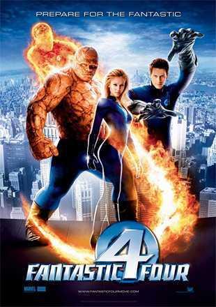 Fantastic Four 2005 BRRip 720p Dual Audio In Hindi English