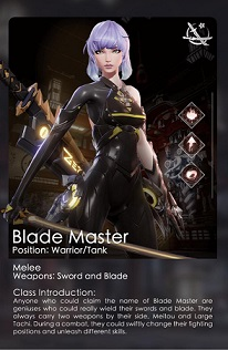 Blade Master (Warrior and Tank)