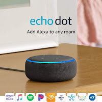 Echo Dot New and improved Smart Speaker With Alexa