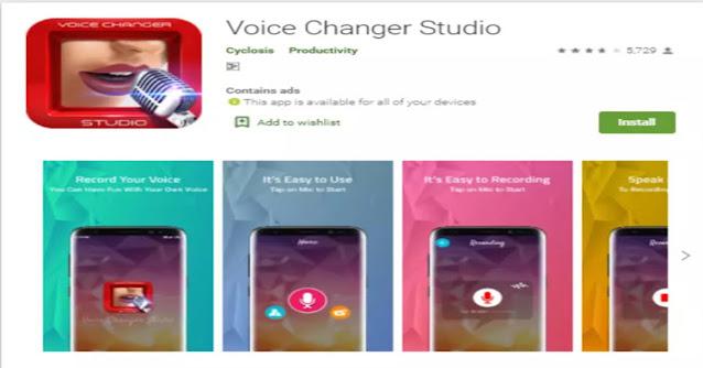 voice changer studio app