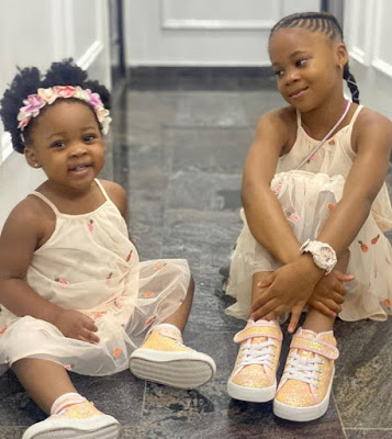 sandra okagbue and flavour nabania's daughters