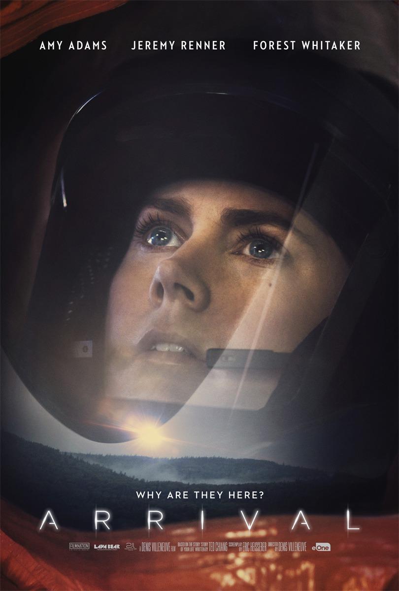 Pósters de personajes de 'La llegada' con Amy Adams y Jeremy Renner
