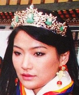 Jade Tiara Queen Jetsun Pema Bhutan