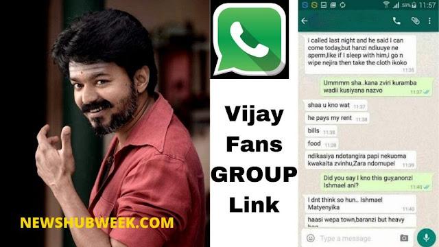 Join 20+ Vijay Fans Whatsapp Group Links Latest Update