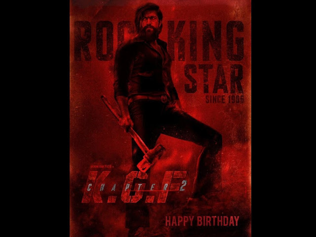 KGF Chapter 2 New Poster Release