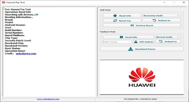 How to use huawei frp tool