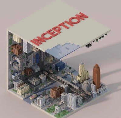 Voxel Inception City