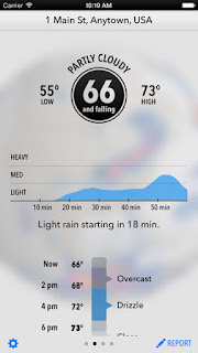 dark-sky-hyperlocal-weather iphone widget