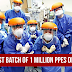 DOH successfully delivered first batch of 1 million PPEs to hospitals