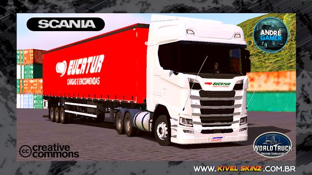 SCANIA S730 - EUCATUR