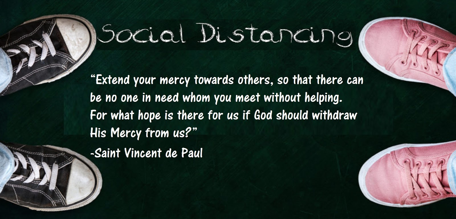 The Road To Emmaus Social Distancing Is A Corporal Work