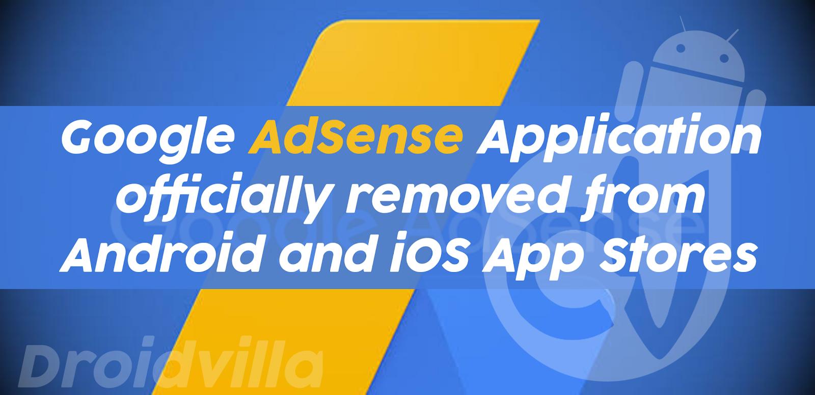 Google AdSense App ios, Android