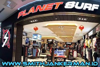Lowongan Planet Surf Mal SKA Pekanbaru April 2018