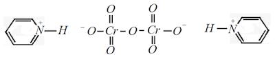formula estrutural dicromato piridinio