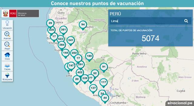 vacunación 2020.minsa.gob.pe: consulta aquí puntos de vacunacion difteria