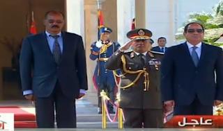 السيسي يستقبل الرئيس الإريتري في قصر الاتحادية يوم السبت