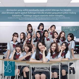Lirik Lagu JKT48 - Sedikit Saja I Love You
