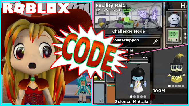 ROBLOX TOWER HEROES! NEW CODE! BEATING THE NEW FACILITY RAID MAP