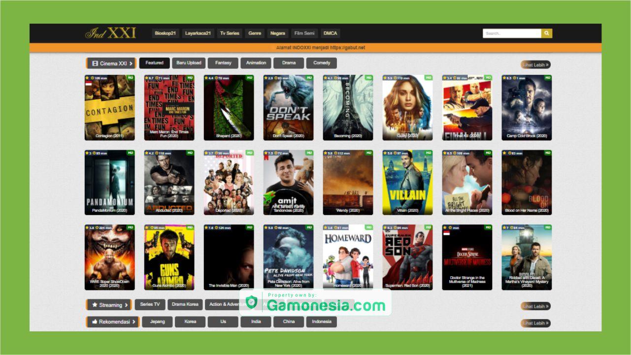 situs Indoxxi terbaru