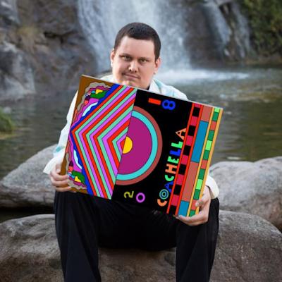 James Frye with his Coachella 2018 design