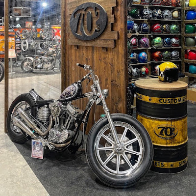 Motor Bike Expo 2021 - 70s Helmets