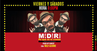 Stand Up Comedy MIDIRI con William Aguirre