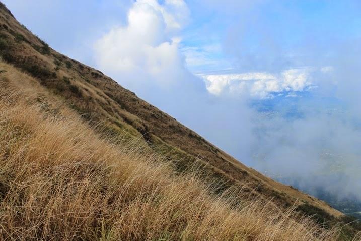 Kemiringan gunung penanggungan