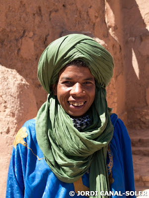 Tuareg en Ait ben Haddou