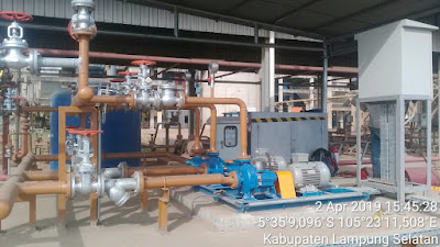 FUEL OIL TRANSFER PUMP TO BOILER BURNER