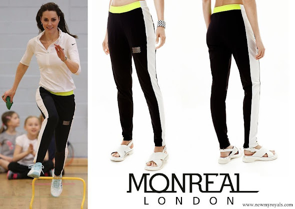 Kate Middleton wore Monreal London Tuxedo Track Pant