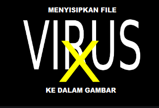 Cara Menyisipkan dan Memasukkan Virus Ke Dalam Gambar menggunakan cmd