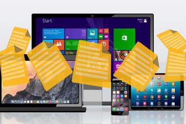 Cómo transferir ARCHIVOS de Windows a dispositivos cercanos