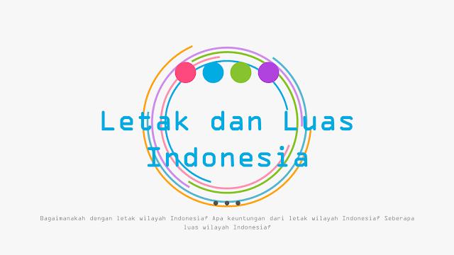 Media Belajar IPS - Letak dan Luas Indonesia | BAB 1 - Kelas 7