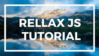 how to use rellax js