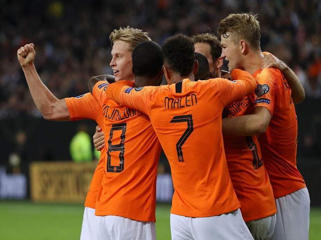 هولندا تفوز على بيلاروسيا في تصفيات يورو 2020