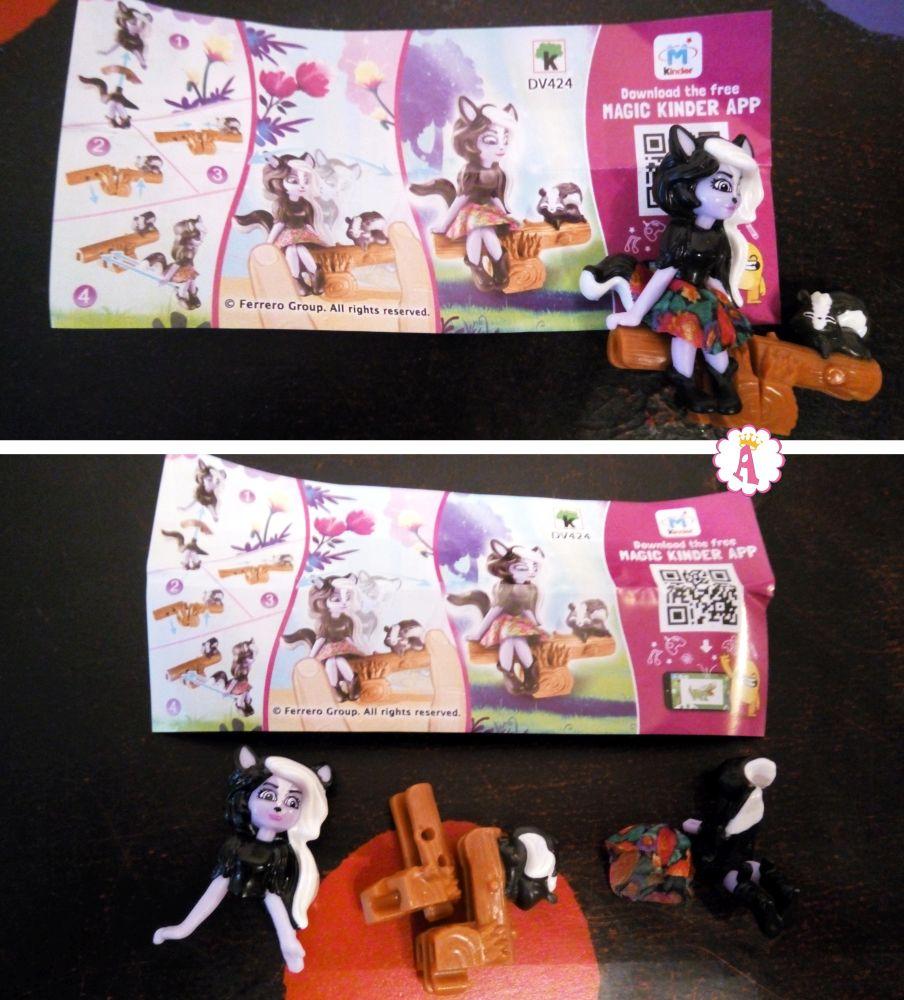 Куклы Sage Skunk и Caper (Сейдж Скунси с Кейпером) DV424 киндер сюрприз Энчантималс