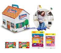 Con Spontex vinci 80 Casette del pulito (forniture di prodotti) e 1 anno di pulizie gratis