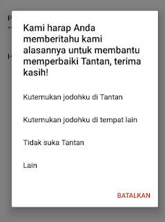 How to block a Tantan account