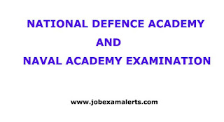 National Defence Academy and Naval Academy Exam