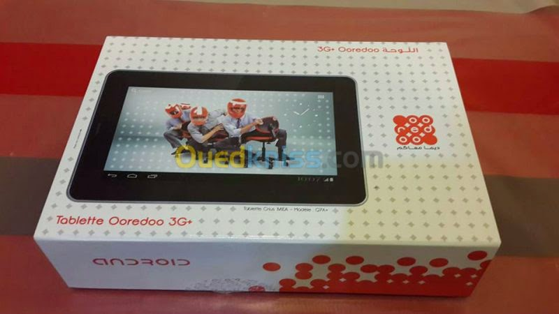 firmware tablette ooredoo q7a+