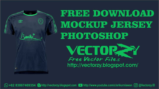 Download Free Download Premium Mockup Jersey Photoshop PSD File ...