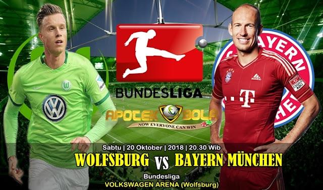 Prediksi Wolfsburg Vs Bayern Munchen 20 Oktober 2018