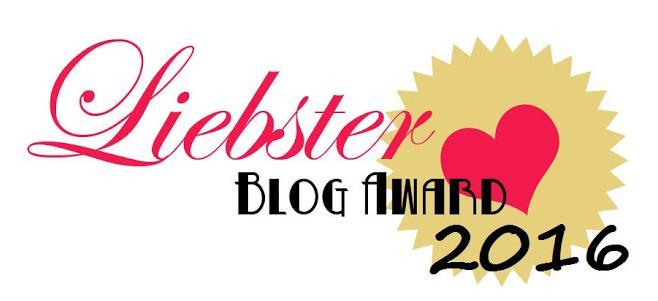 Liebster Blog Award 2016 - nominacja od Żoną Być