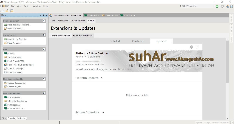 Free Download Altium Designer 17 Full License Key