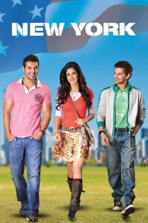 Download New York (2009) Hindi Movie 720p BRRip 1GB