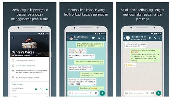 WhatsApp Bisnis Untuk Keperluan Bisnis