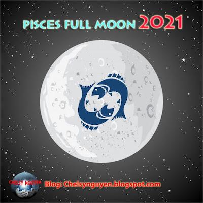 Full Moon in Pisces 2021 and Rituals | Trăng tròn tháng 9 tại Song Ngư