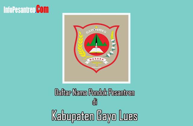 Pesantren di Kabupaten Gayo Lues