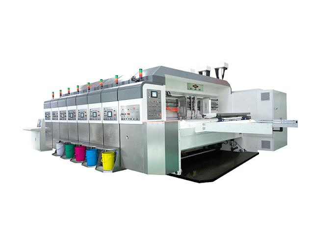 Corrugated Box Printing Machine