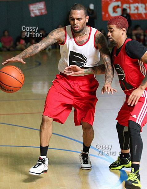 e5701f45ea3 Chris Brown Wearing Air Jordan 2's | The Burped Sneakers